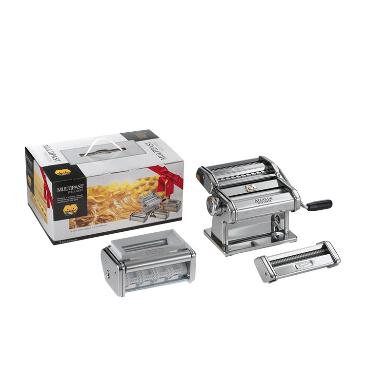 Marcato Atlas 150 Wellness Multi Pasta Machine with 5 Shapes
