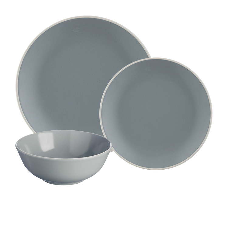 Mason Cash Classic Collection Dinner Set 12pc Grey