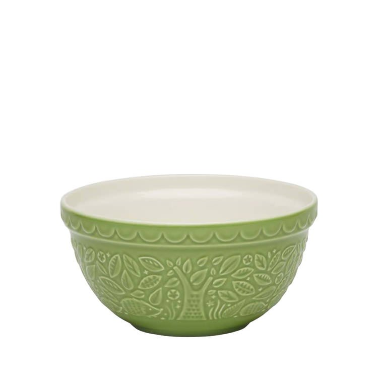 Mason Cash In The Forest Mixing Bowl Hedgehog Green 21cm