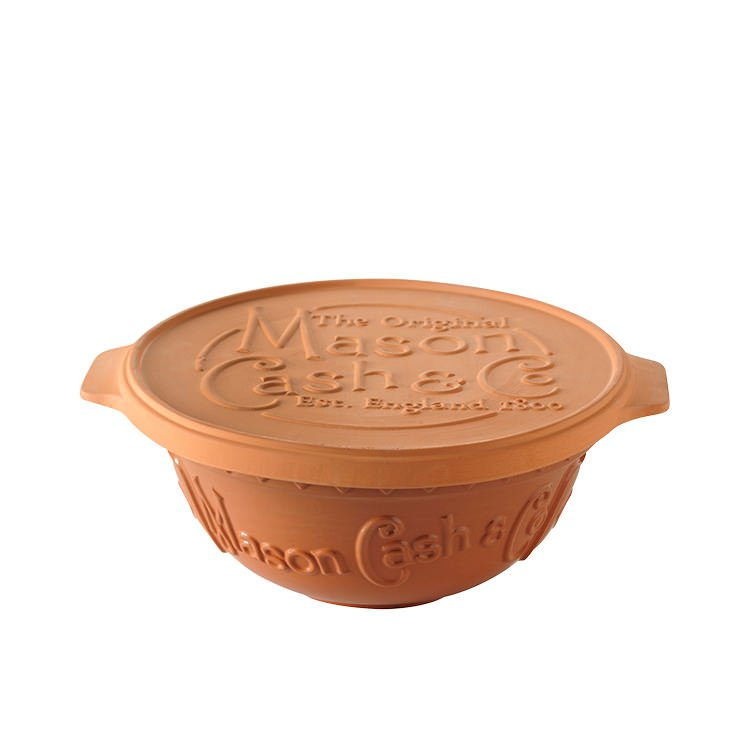 Mason Cash Terracotta Bread Baking Set w/ Proving Lid