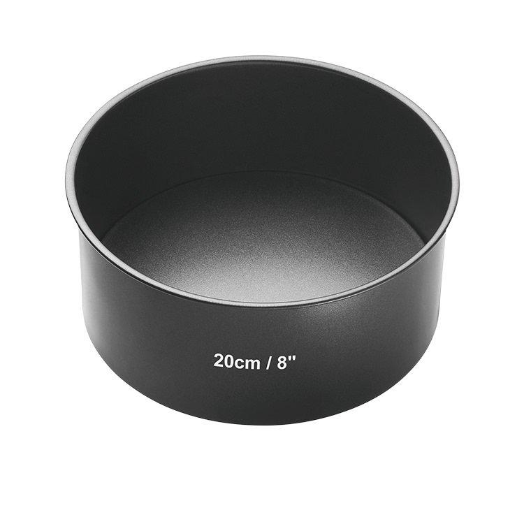 MasterCraft Non-Stick Loose Base Round Deep Cake Pan 20cm