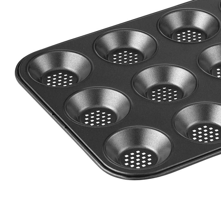 MasterPro Crispy Bake 12 Cup Shallow Baking Pan 32x24cm