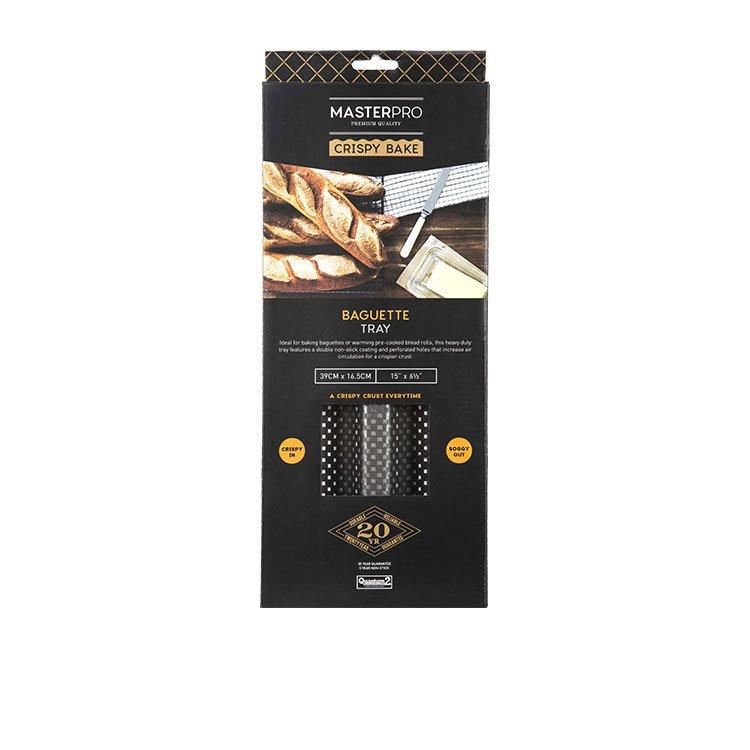 MasterPro Crispy Bake Baguette Tray 39x16.5x2.5cm