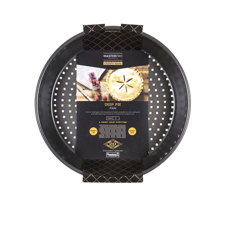 MasterPro Crispy Bake Deep Pie/Tart Tin 24x5cm image #3