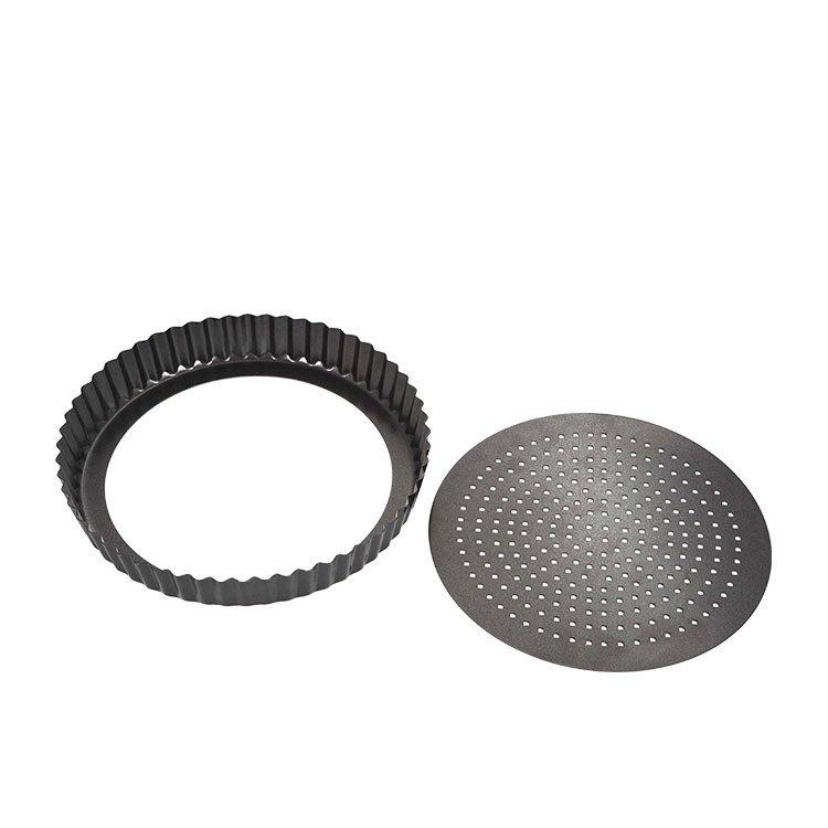 MasterPro Crispy Bake Loose Base Round Quiche Tin 23x3.5cm image #2