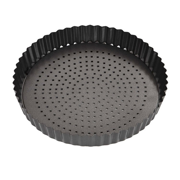 MasterPro Crispy Bake Loose Base Round Quiche Tin 23x3.5cm image #3
