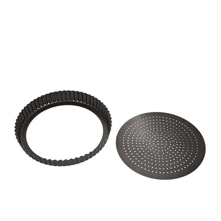 MasterPro Crispy Bake Loose Base Round Quiche Tin 25x3.5cm image #2