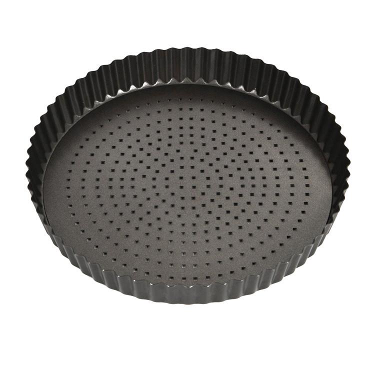 MasterPro Crispy Bake Loose Base Round Quiche Tin 25x3.5cm image #3