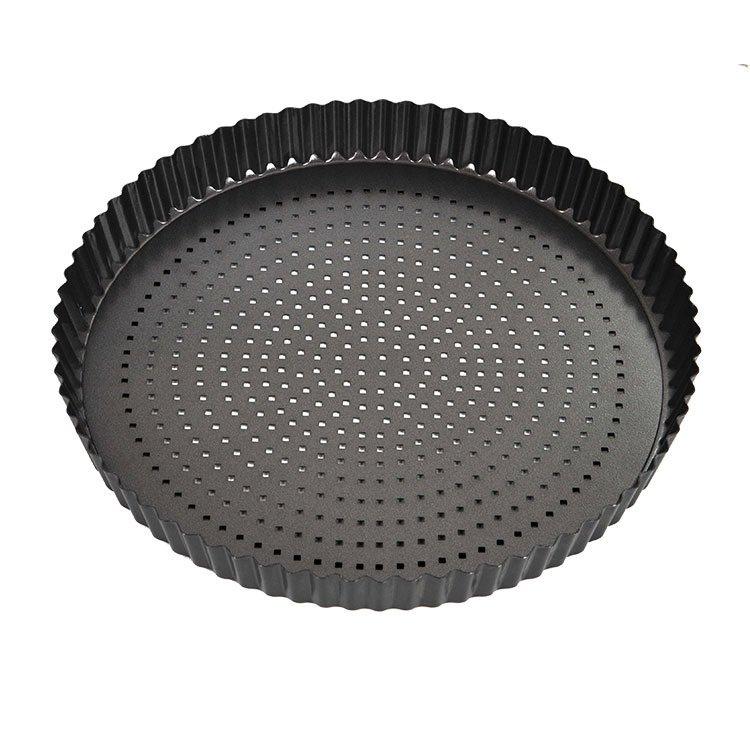 MasterPro Crispy Bake Loose Base Round Quiche Tin 30x3.5cm