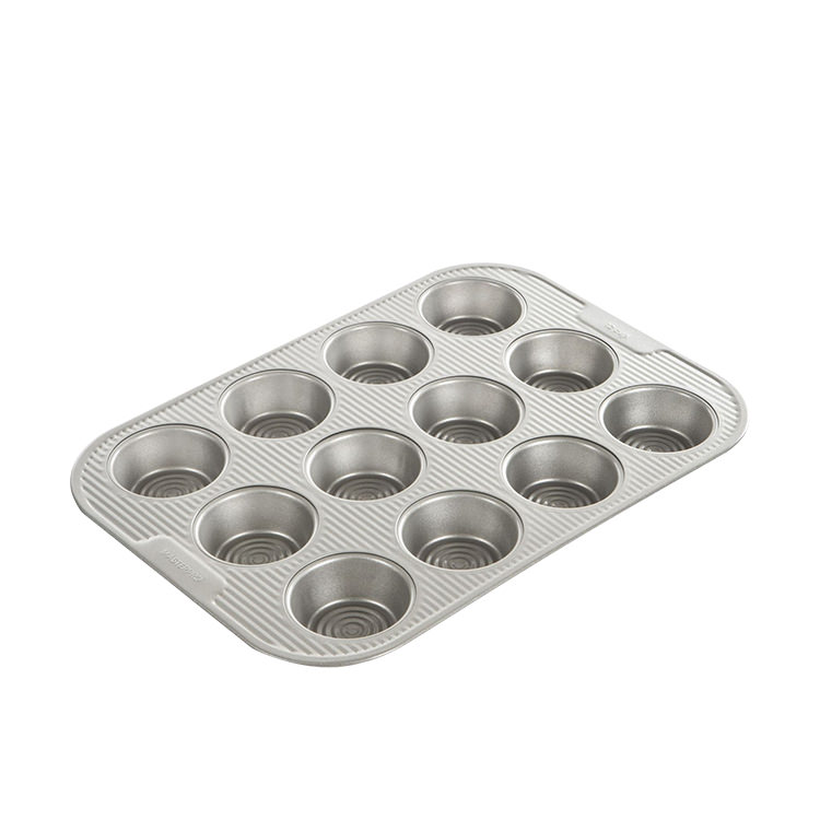 MasterPro FloBake Non-Stick 12 Cup Muffin Pan 39x27.5x3cm
