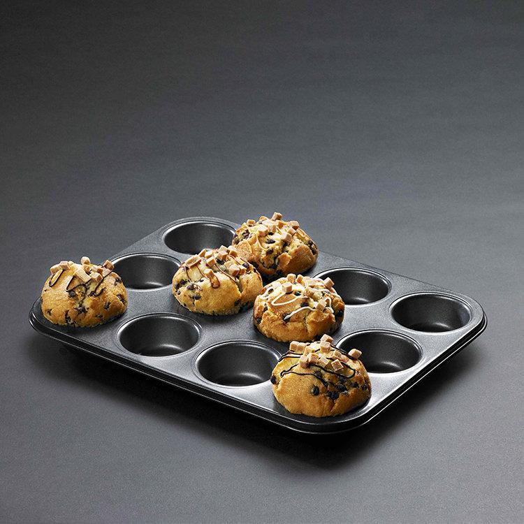 MasterPro Non-Stick 12 Cup Muffin/Cupcake Pan 35x27cm