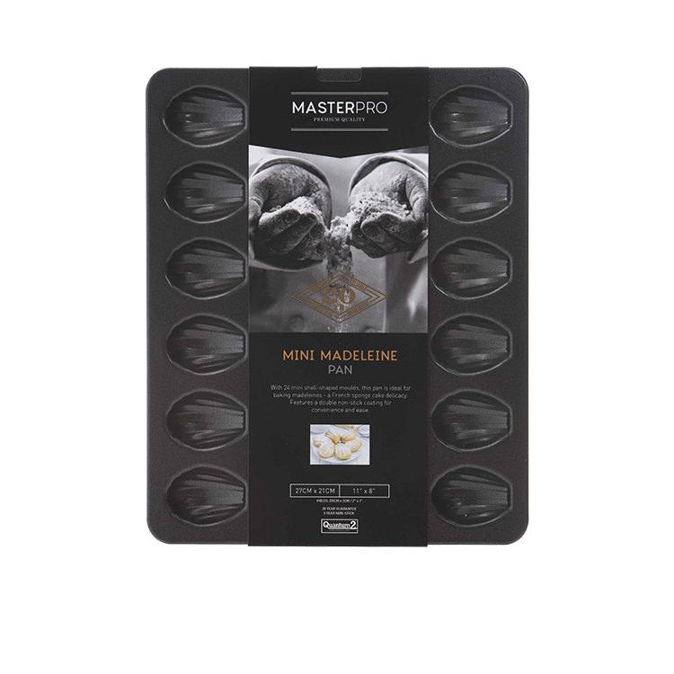 MasterPro Non-Stick 24 Hole Mini Madeleine Pan 27x21cm