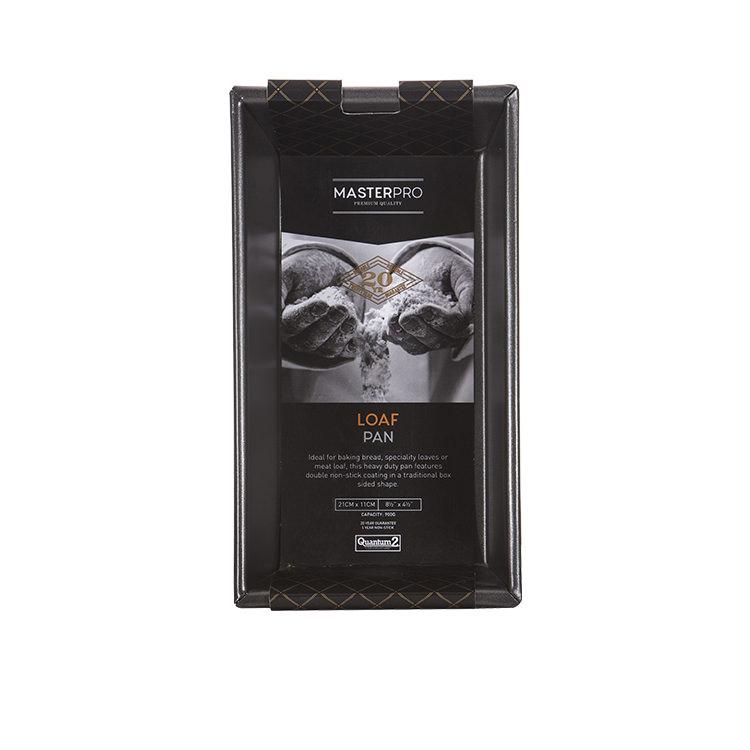 MasterPro Non-Stick Box Sided Loaf Pan 21x11x7cm