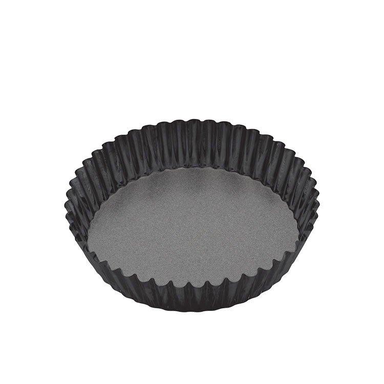 MasterPro Non-Stick Loose Base Round Deep Quiche Tin 25x5.5cm