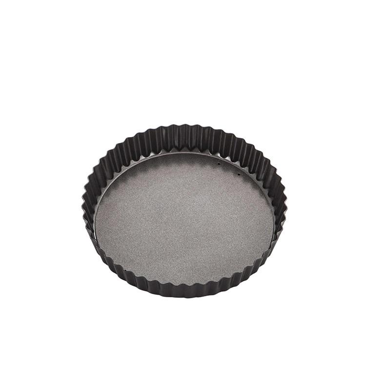 MasterPro Non-Stick Loose Base Round Quiche Tin 20x3.5cm