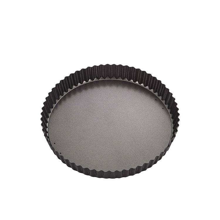 MasterPro Non-Stick Loose Base Round Quiche Tin 25x3.5cm