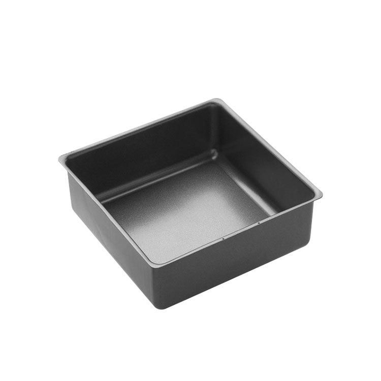 MasterPro Non-Stick Loose Base Square Deep Cake Pan 21x7cm