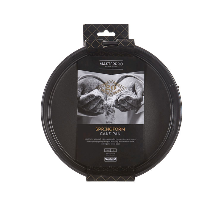 MasterPro Non-Stick Round Springform Cake Pan 23x6cm