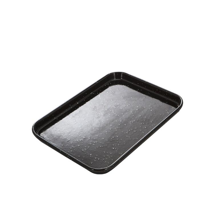 MasterPro Professional Vitreous Enamel Baking Tray 24x18x2cm