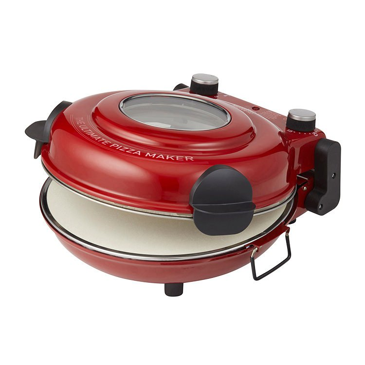 MasterPro Ultimate Pizza Oven Red