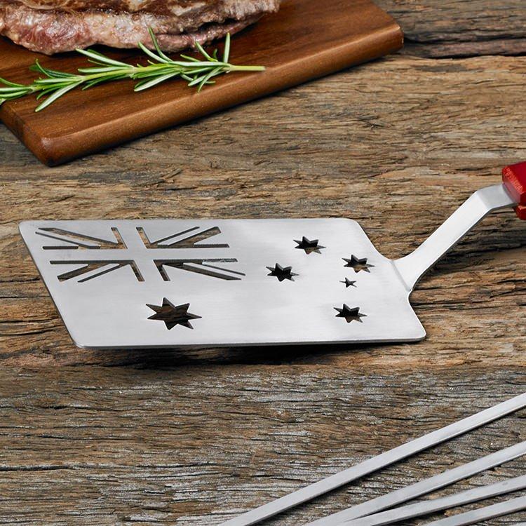 Maverick Australian Flag BBQ Turner