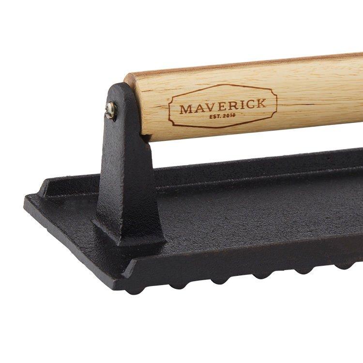 Maverick Cast Iron Press w/ Acacia Wood Handle