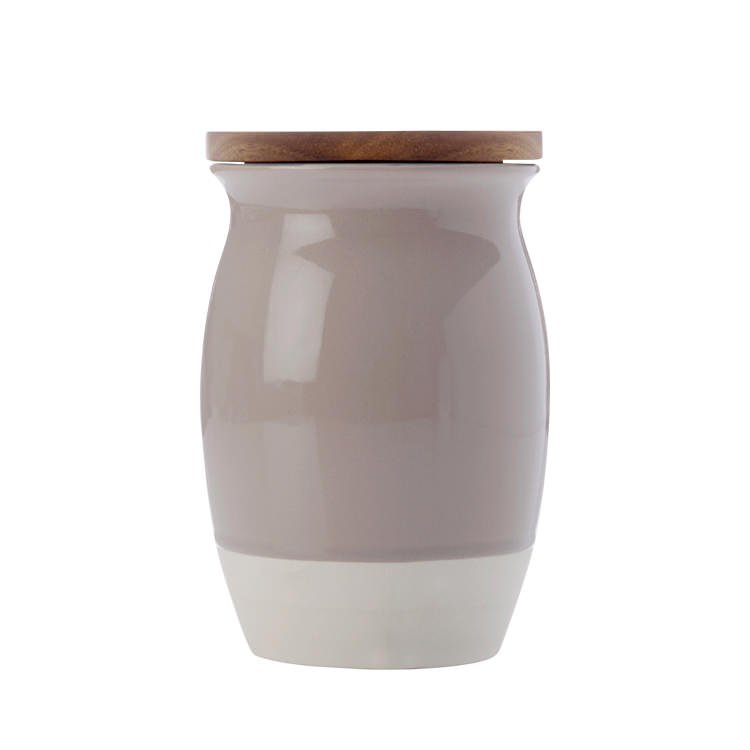 Maxwell & Williams Artisan Dipped Canister 1L Biscuit