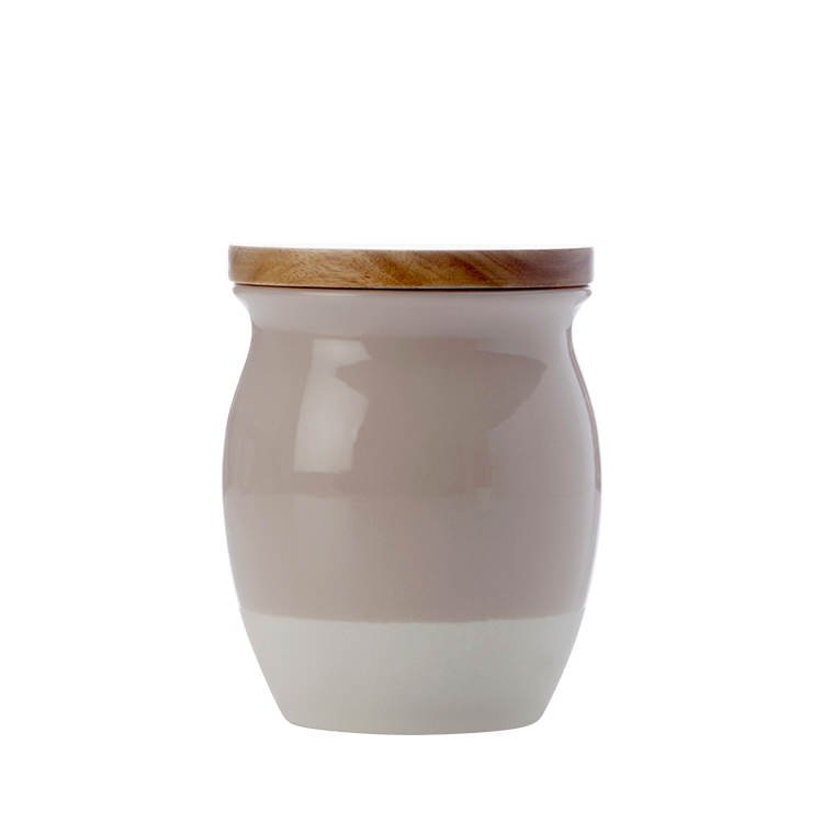 Maxwell & Williams Artisan Dipped Canister 500ml Biscuit