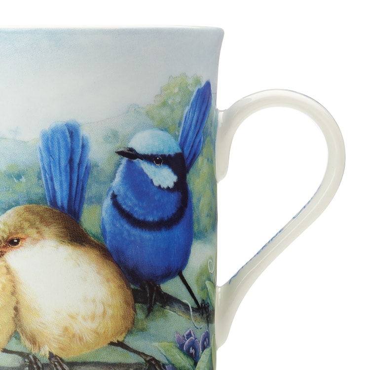 Maxwell & Williams Birds of Australia Katherine Castle Mug 300ml Fairy Wren