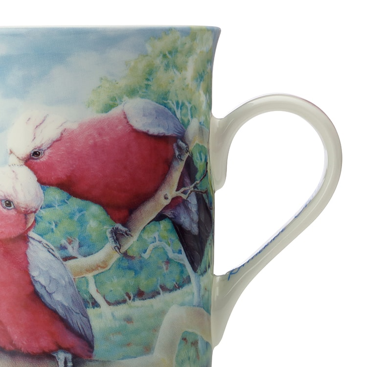 Maxwell & Williams Birds of Australia Katherine Castle Mug 300ml Galah