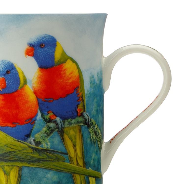 Maxwell & Williams Birds of Australia Katherine Castle Mug 300ml Lorikeet