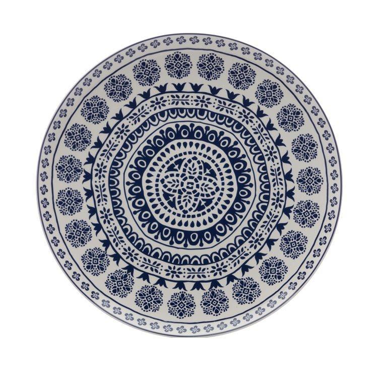 Maxwell & Williams Blue Antico Round Platter 36.5cm