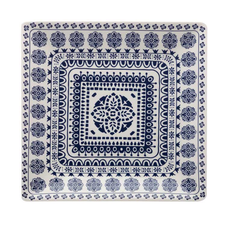 Maxwell & Williams Blue Antico Square Platter 34cm