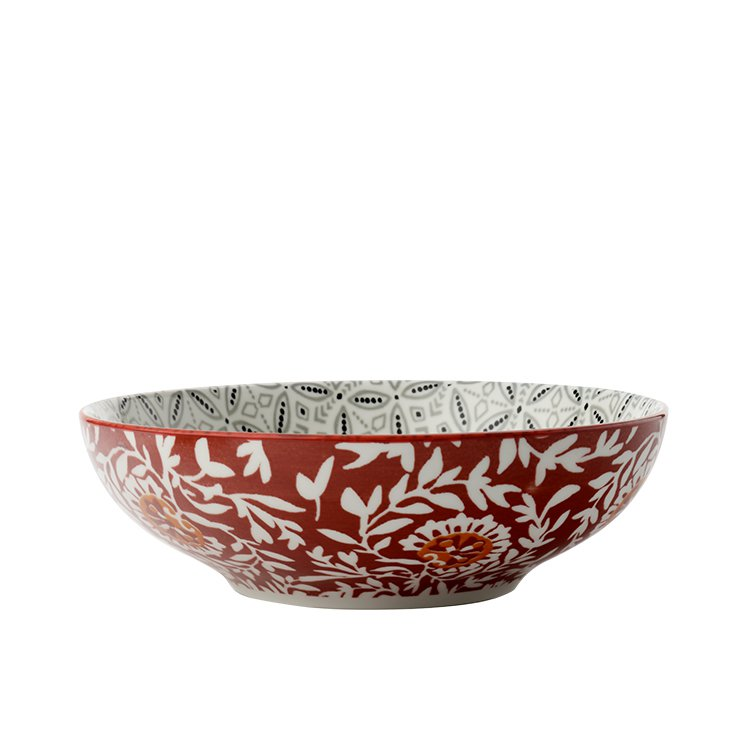 maxwell williams boho coupe bowl 18cm batik grey fast shipping. Black Bedroom Furniture Sets. Home Design Ideas
