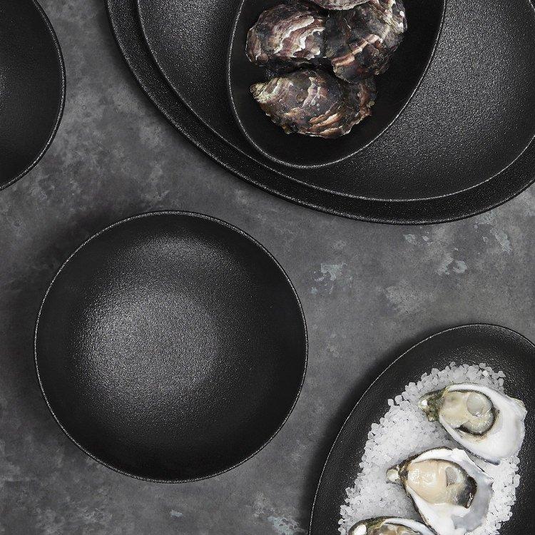 Maxwell & Williams Caviar Black Coupe Bowl 16x6cm