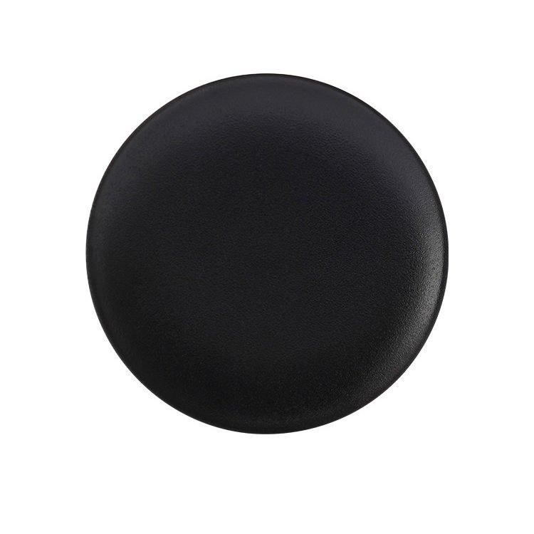 Maxwell & Williams Caviar Black Coupe Plate 15cm