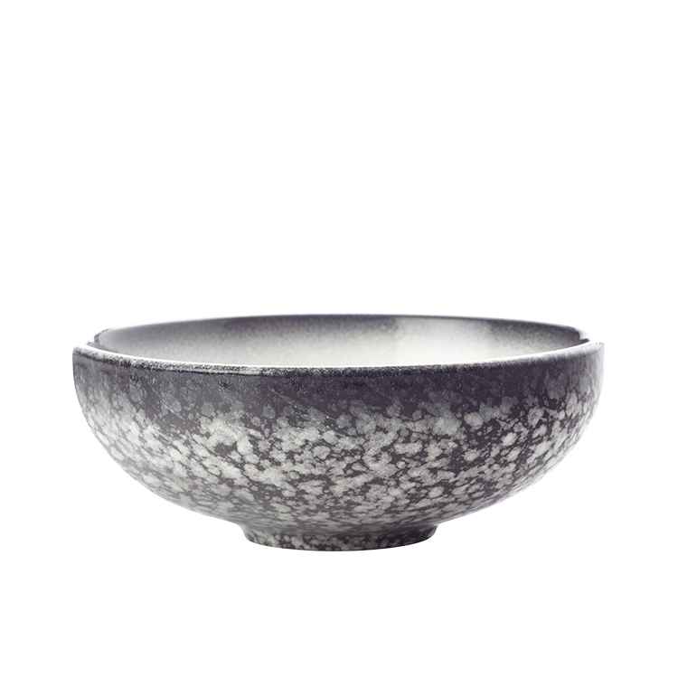 Maxwell & Williams Caviar Granite Coupe Bowl 15.5x6cm