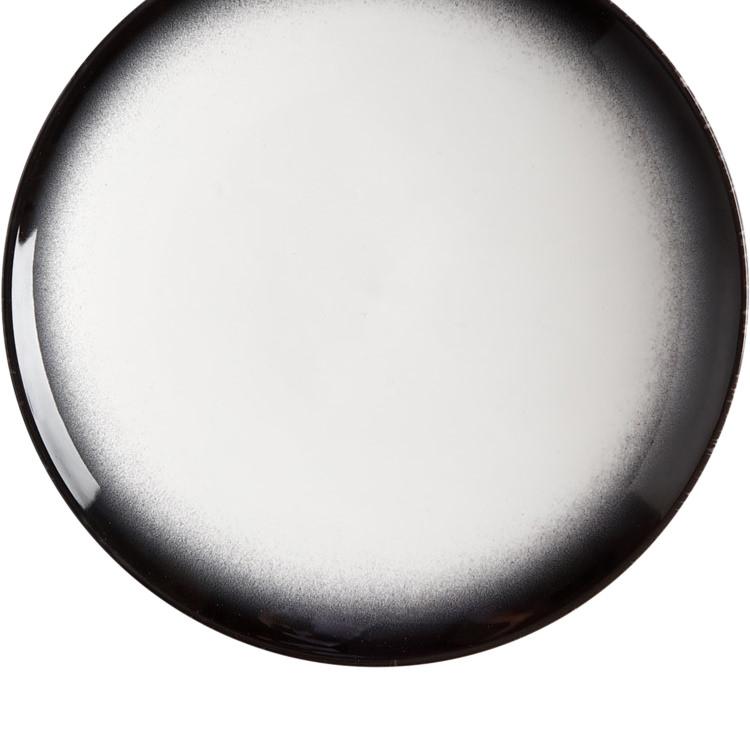 Maxwell & Williams Caviar Granite Coupe Plate 20cm
