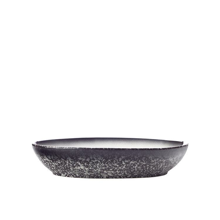 Maxwell & Williams Caviar Granite Oval Bowl 20x14cm