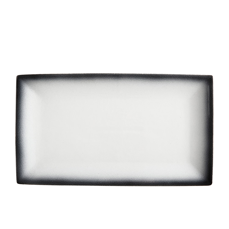 Maxwell & Williams Caviar Granite Rectangular Platter 34.5x19.5cm