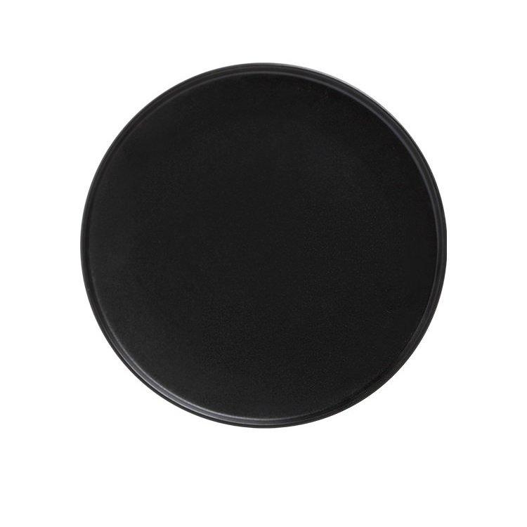 Maxwell & Williams Caviar High Rim Plate 21cm Black