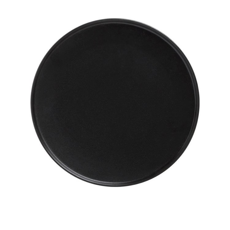 Maxwell & Williams Caviar Black High Rim Plate 25cm