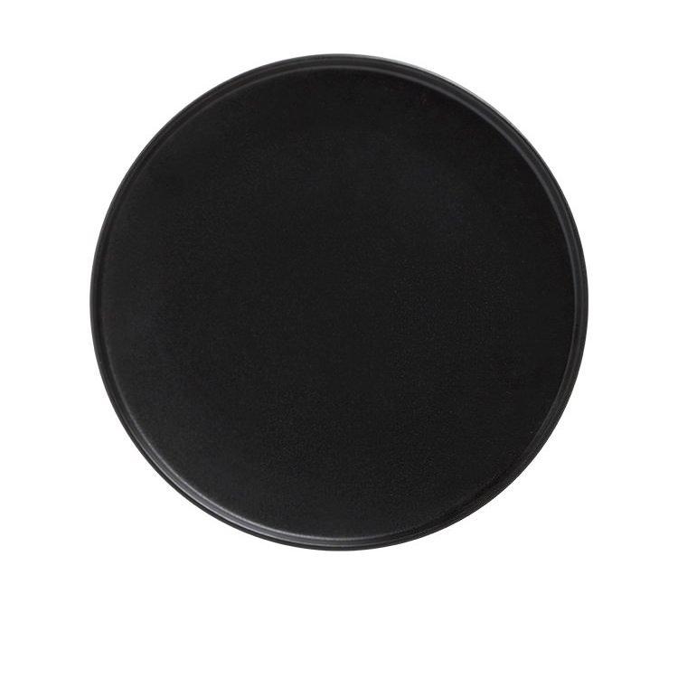 Maxwell & Williams Caviar Black High Rim Plate 25cm