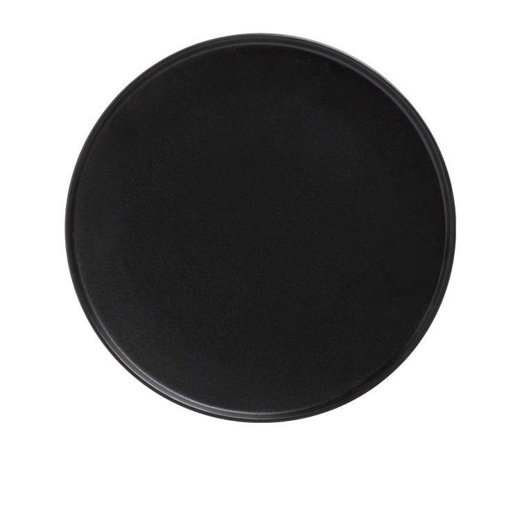 Maxwell & Williams Caviar Black High Rim Plate 27cm