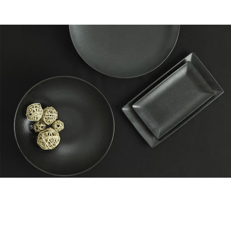 Maxwell & Williams Caviar Black Rectangular Platter 28x16cm image #2
