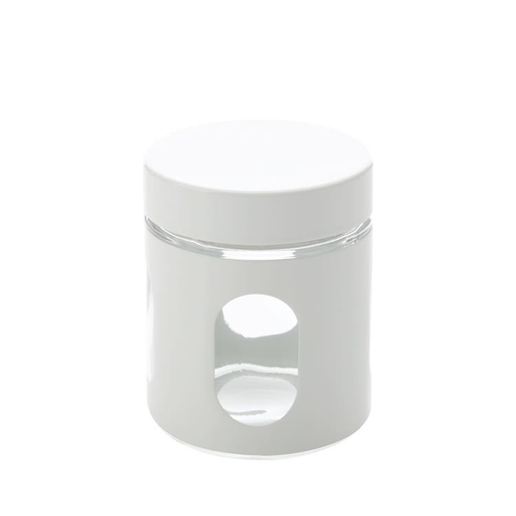 The Maxwell & Williams Cosmopolitan Colours Canister 600ml White is a ...