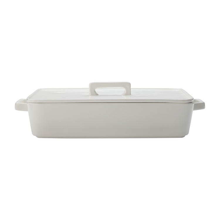 Maxwell & Williams Epicurious Rectangle Baker w/ Lid 32x22.5x7cm