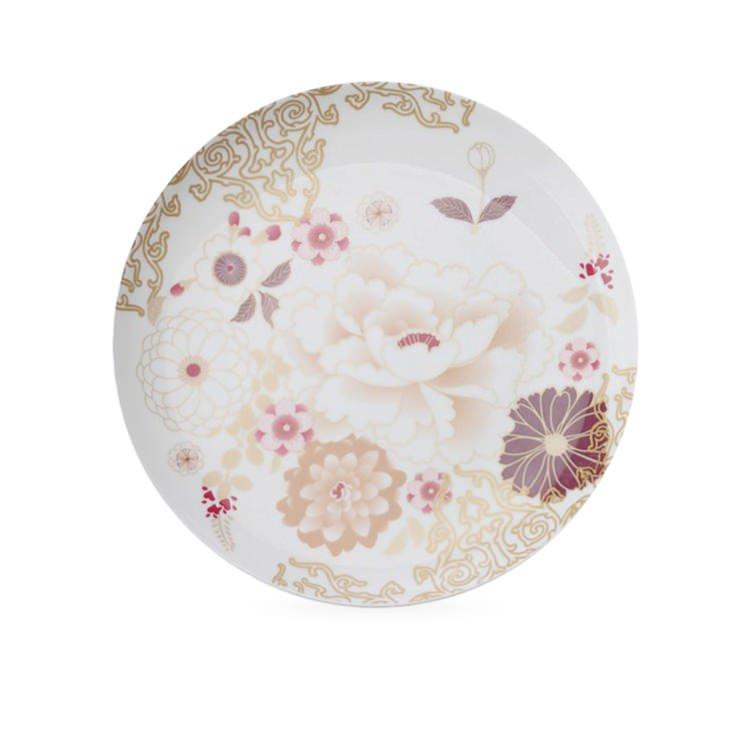 Maxwell & Williams Kimono Cake Plate White