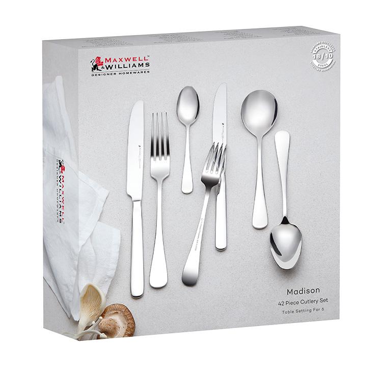 Maxwell & Williams Madison 42pc Cutlery Set image #2