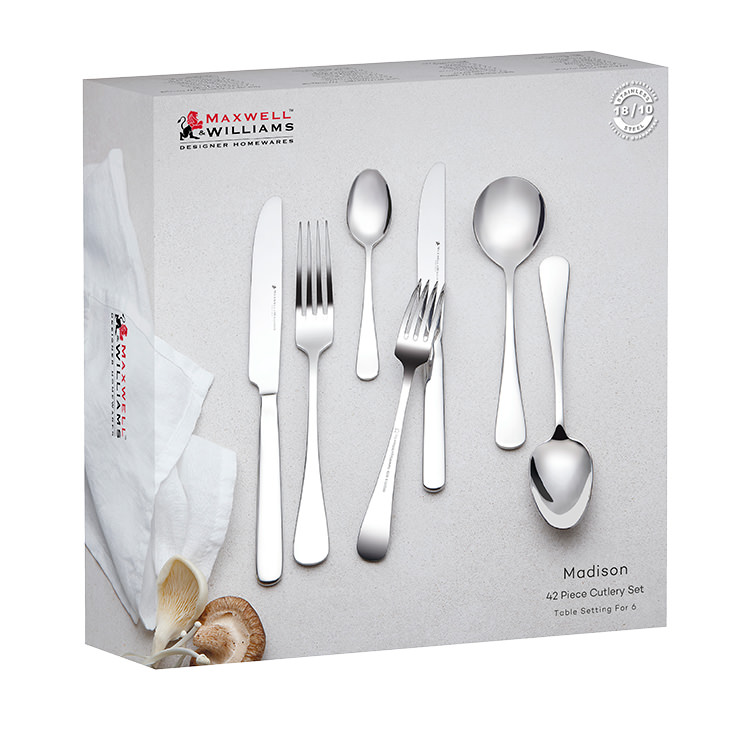 Maxwell & Williams Madison 42pc Cutlery Set